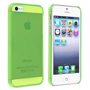 Insten® Snap-In Slim Case For iPhone 5/5S, Clear Green