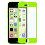 Insten® Colorful Frame Screen Protector For Apple iPhone 5/5S/5C, Green