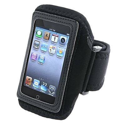 Insten Deluxe Armband For iPod Touch 2nd\/3rd\/4th Gen, Black