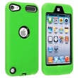 Insten® Hybrid Case For iPod Touch® 5th Gen, Black/Green