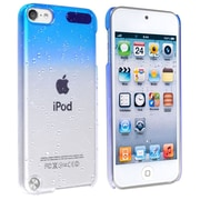 Insten® Snap-In Case For iPod Touch® 5th Gen, Clear Sky Blue Waterdrop