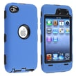 Insten® Hybrid Case For iPod Touch® 4th Gen, Black/Blue