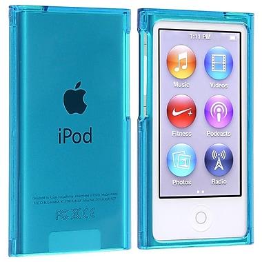 Insten® Snap-In Slim Case For iPod Nano® 7th Gen, Clear Blue