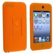 Insten® Skin Case For iPod Touch® 1st/2nd/3rd Gen, Orange