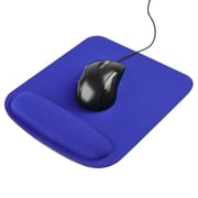 Insten® pothoptmou16 Wrist Comfort Cushion Mousepad For Optical/Trackball Mouse, Blue
