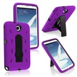 Insten® Hybrid Case With Stand For Samsung Galaxy Note 8.0 N5100, Purple/Black