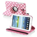 Insten® 360 Deg Swivel Stand Cases For Samsung Galaxy Tab 3 7.0 P3200