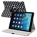 Insten® 360 Deg Swivel Stand Cases For iPad Air
