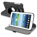 Insten® 360 Deg Swivel Case For Samsung Galaxy Tab 3 7in. P3200/Kids, Black
