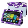 Insten® Stand Case For Amazon Kindle Fire HD 7in. 2013 Edition, Purple Giraffe