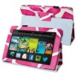 Insten® Stand Case For Amazon Kindle Fire HD 7in. 2013 Edition, Pink Giraffe