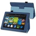 Insten® Stand Case For Amazon Kindle Fire HD 7in. 2013 Edition, Navy Blue
