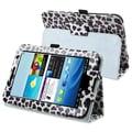 Insten® Stand Case For Samsung Galaxy Tab 2 7.0 P3100/P3110/P3113, White/Purple Leopard