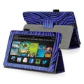 Insten® Stand Case For Amazon Kindle Fire HD 7in. 2013 Edition, Blue Zebra