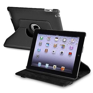 Insten® 360 Deg Swivel Case For iPad 2/3/4, Black