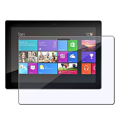 Insten Reusable Screen Protector For Microsoft Surface 8 Pro Surface RT Clear