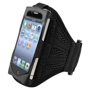 Insten® Deluxe Sportband For iPhone 4/4S/3G/3GS/iPod touch, Black/Black