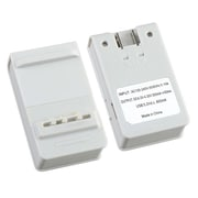 Insten® Wall Desktop Battery Charger With USB For Samsung Galaxy Note II N7100, White