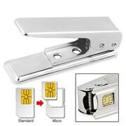 Insten® Micro SIM Card Cutter, Silver