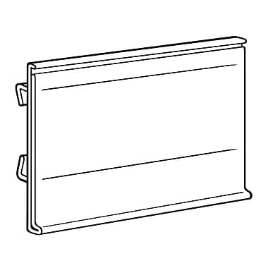 FFR Merchandising® Data Strip® Label Holder For Small Scan Plate, 1.25
