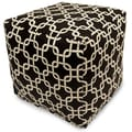 Majestic Home Goods Indoor Poly/Cotton Twill Links Small Cubes