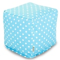 Majestic Home Goods Indoor Poly/Cotton Twill Polka Dot Small Cubes