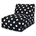 Majestic Home Goods Indoor Large Polka Dot Cotton Duck Bean Bag Chair Loungers