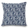 Majestic Home Goods Indoor Helix Extra Large Pillow, Navy Blue