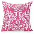 Majestic Home Goods Indoor French Quarter Extra Large Pillow, Hot Pink