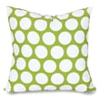 Majestic Home Goods Indoor Large Polka Dot Extra Large Pillow, Hot Green