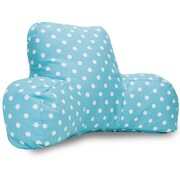 Majestic Home Goods Indoor Small Polka Dot Reading Pillows