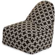 Majestic Home Goods Indoor Links Cotton Duck/Twill Kick-It Bean Bag Chairs