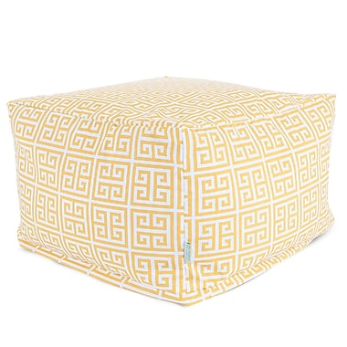 Majestic Home Goods Outdoor Polyester Towers Large Ottomans