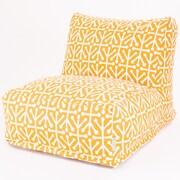Majestic Home Goods Outdoor Polyester Aruba Bean Bag Chair Loungers