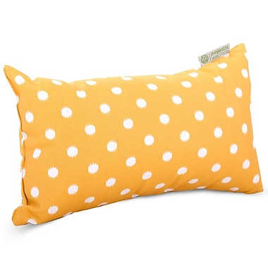 Majestic Home Goods Indoor/Outdoor Ikat Dot Small Pillows