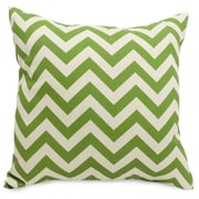 Majestic Home Goods Indoor/Outdoor Chevron Large Pillow, Sage
