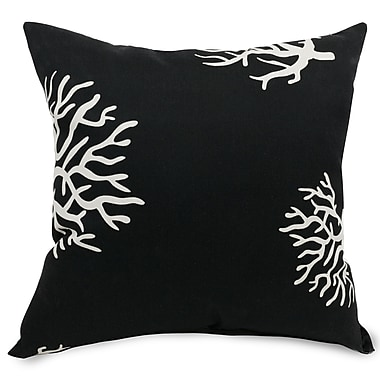 Majestic Home Goods Indoor/Outdoor Coral Large Pillows