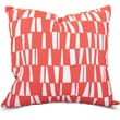 Majestic Home Goods Indoor/Outdoor Sticks Large Pillow, Salmon