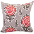 Majestic Home Goods Indoor/Outdoor Michelle Large Pillow, Salmon