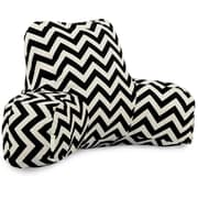 Majestic Home Goods Outdoor/Indoor Chevron Reading Pillows