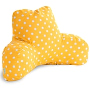 Majestic Home Goods Outdoor/Indoor Ikat Dot Reading Pillows
