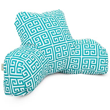 Majestic Home Goods Outdoor/Indoor Towers Reading Pillow, Pacific