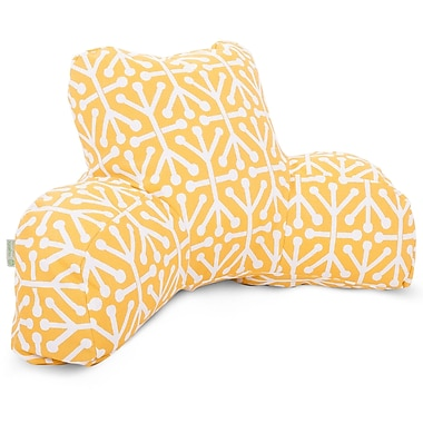 Majestic Home Goods Outdoor/Indoor Aruba Reading Pillows