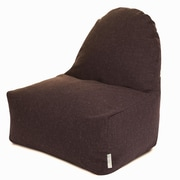 Majestic Home Goods Indoor Wales Cotton Duck/Twill Kick-It Bean Bag Chairs