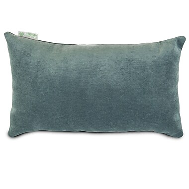 Majestic Home Goods Indoor Villa Small Pillow, Azure