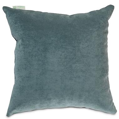 Majestic Home Goods Indoor Villa Large Pillow, Azure
