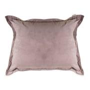 Majestic Home Goods Indoor Micro-Velvet Floor Pillow, Steel