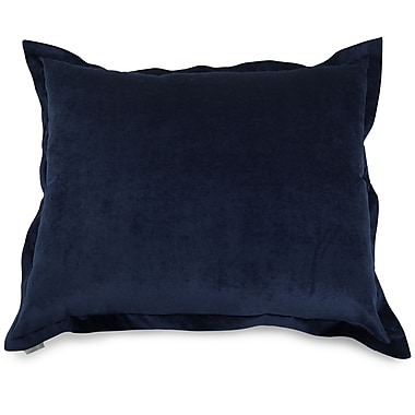 Majestic Home Goods Indoor Villa Floor Pillow, Navy