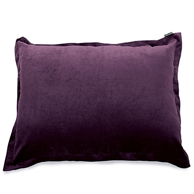 Majestic Home Goods Indoor Villa Floor Pillow, Aubergine