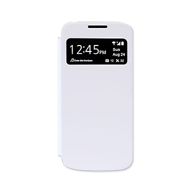 LBT Samsung S4 Mini Flip Case with Viewing Windows, White